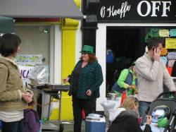 Lady Leprechaun?? No... seller of some good food... yes!