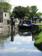 #2 - the barge exits the top chamber... next lock... more than 30 kms along...
