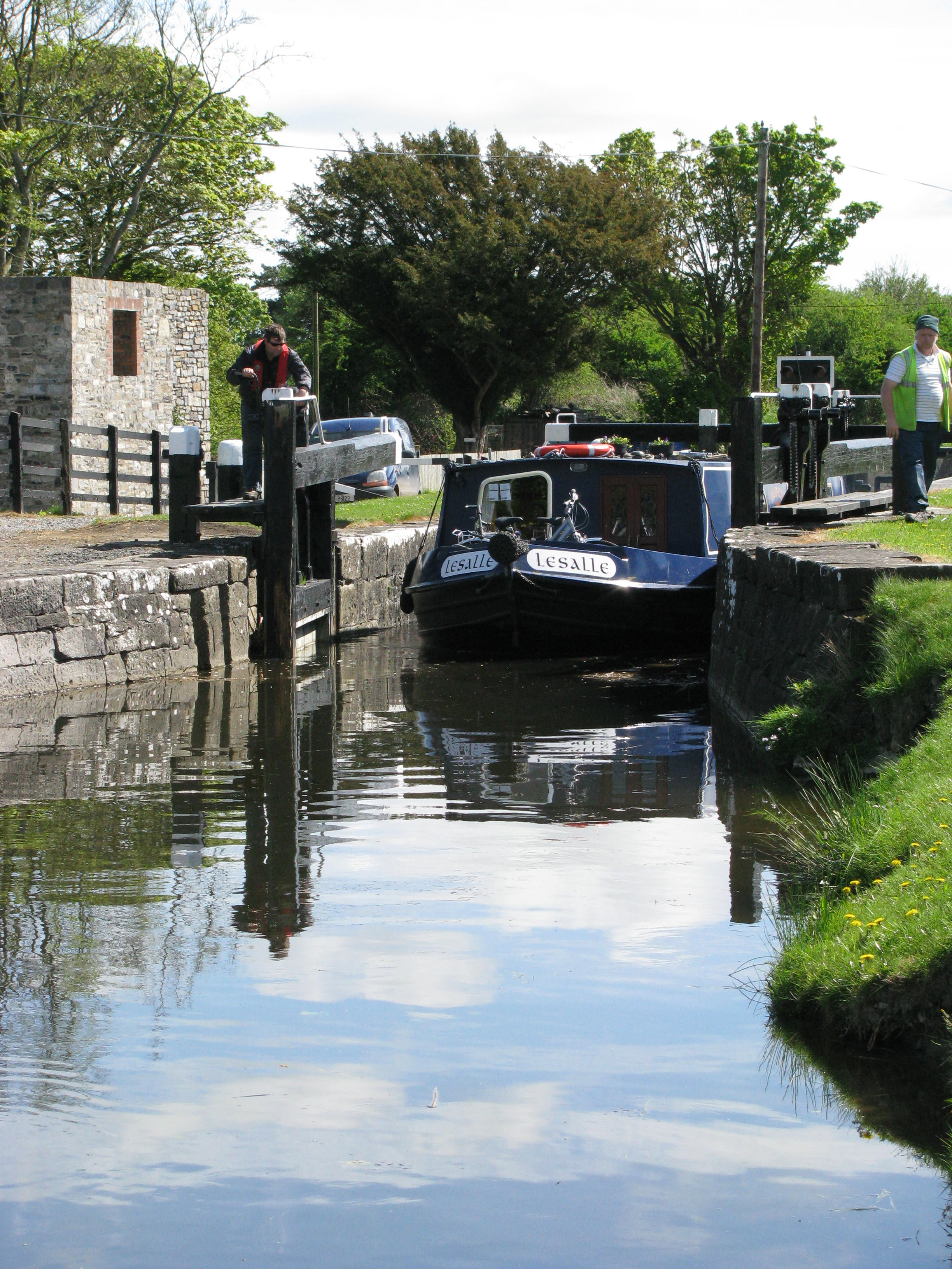 Royal Canal Ferns's Lock; © AJ Vosse
