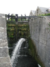 These lock gates have seen a few liters of water go by...