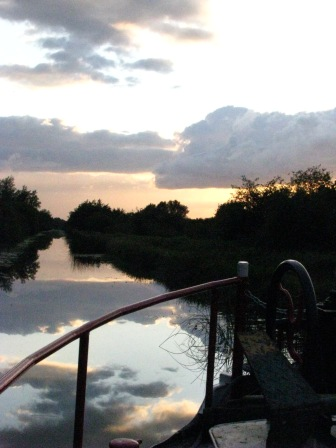 Royal Canal sunset...