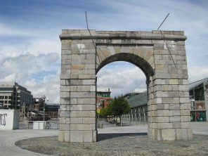 ... the Arch on the square...