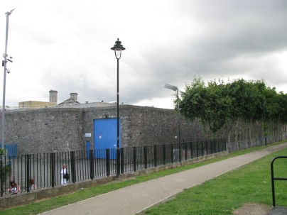 And on your left.... you have 'The Joy'... as Mountjoy Prison is affectionately known by some...