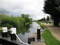 Well used towpath from the 9th lock on-wards to Ashtown Station at the Longford Bridge...