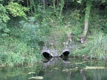 These arches are located in the south bank below Ashtown Station... are they for drainage or for top-up? We have the Pig's Nostrils' near Mullingar... is this the 'Bulls Nose'?