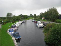 Finally... The main part of Abbeyshrule Harbour to the west of Webb's Bridge... my next challenge... soon, I hope.