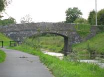 Standing opposite the cemetery the Kilpatrick Bridge is visible to the west...
