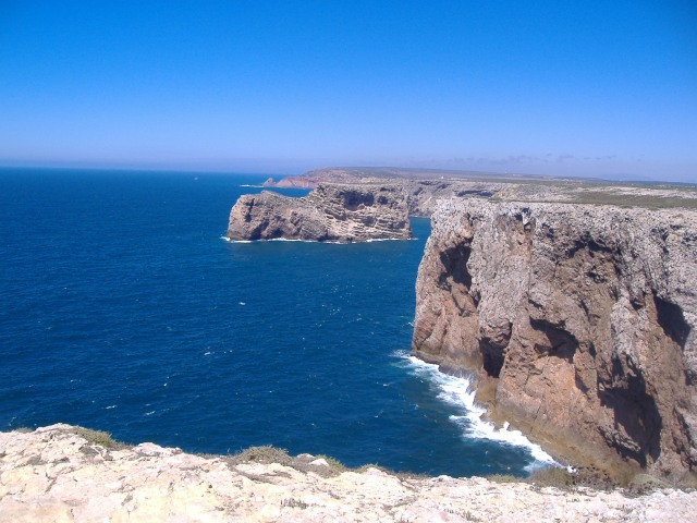 Cape St. Vincent Cape St. Vincent... long thought to be the end of the world... western Algarve