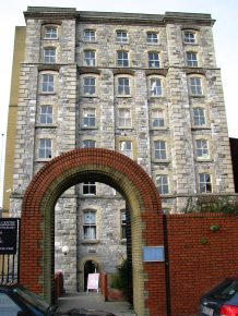 Opposite the Visitor's Centre... the old stone building is now Trinity College Enterprise Centre...