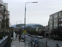 The view from Maquay Bridge... the Aviva Stadium in the distance...