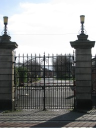 A peep into the military barracks... is that gate ever opened?