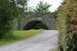 Campbell's Bridge... over what was the start of the Kilbeggan Line... sad to see the line now derelict...