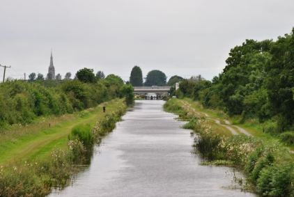 The N52 Bypass bridge in the distance...