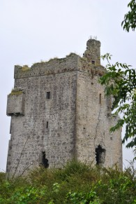 The first look at the remains of Shra Castle...