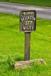 Back in the account of the first walk you'll see a similar marker...