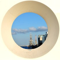 Poolbeg.. through the hole...