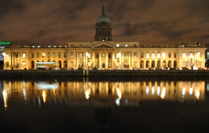 Custom House on the Liffey Quays