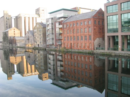 Feb 03 perfect reflections... Grand Canal Dock