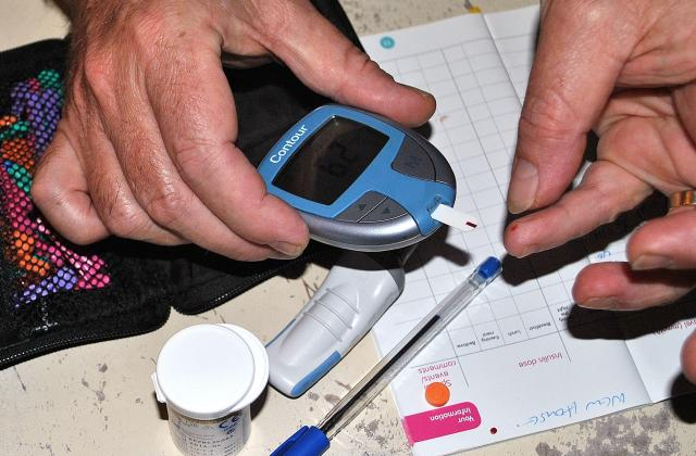 Self testing for blood sugar levels,...
