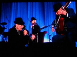 Sep 15 - Leonard Cohen in Dublin, what a show, what a performer... not a good quality pic but the best we could do on the night!