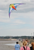 Jul 21 - Why don't you go fly your kite? Fun on Sandymount Beach