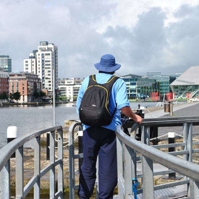 Jun 30 I set off on the first of 7 stages in walking the Grand Canal for Midlands SIMON