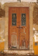 A door in Alvor, Algarve, Portugal... inspiration for one of the 'quotes'...