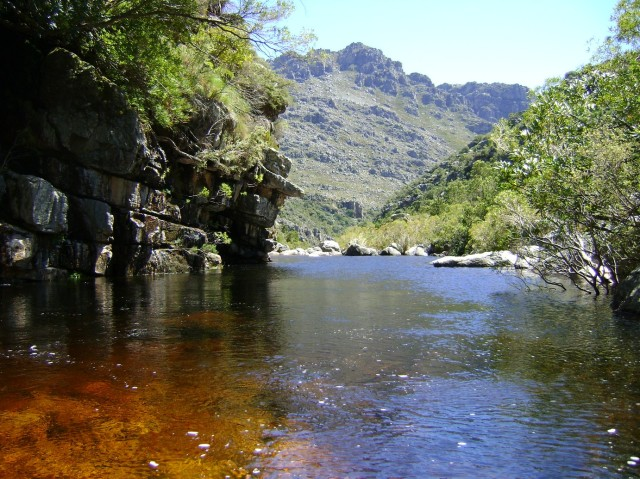 Witte-River, Bain's Kloof. South Afraica