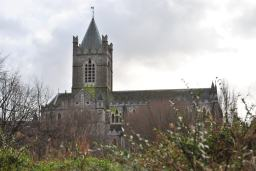 Christ Church Cathedral viewed from the north...