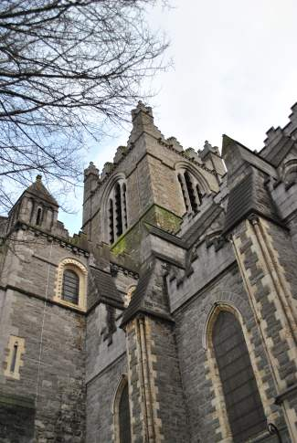 Christ Church Cathedral tower detail