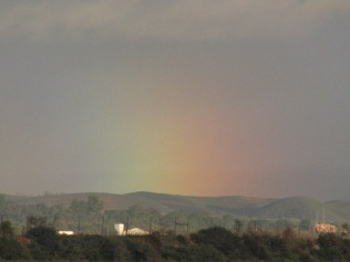Light show over the Monchique Mountains, Algarve Portugal... bliss? Yes...