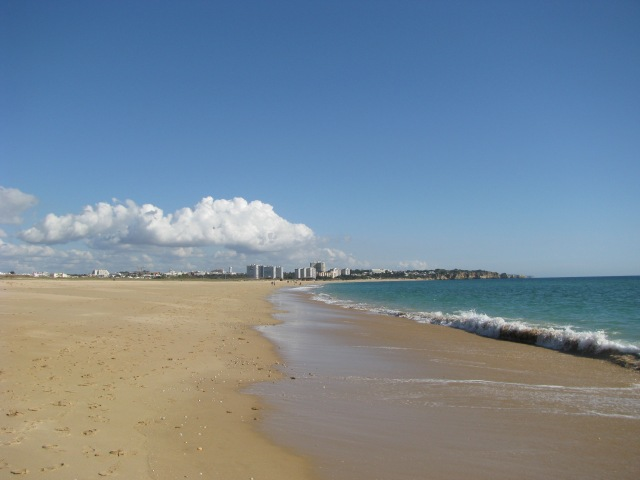 Alvor beach... Algarve Portugal... utter bliss, now there's a way of de-stressing!!