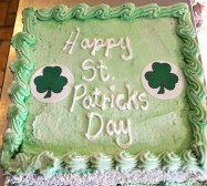 Happy St Patrick's Day... cake loveingly made by the folk at Black Forest Bakery in Kilcock, Ireland.