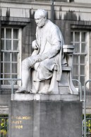Statue at Trinity Collage, Dublin - George Salmon