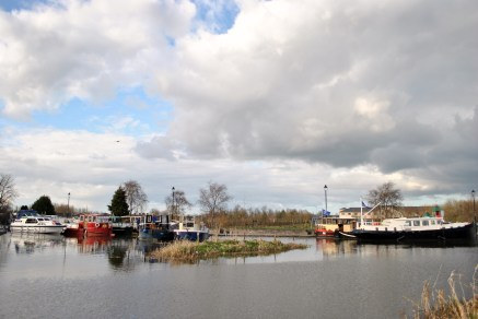 Sky and water... Maynooth Harbour, 19 April 2013