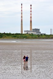 Reflection from Sandymount Strand