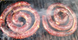 Boerewors on the braai... more Saffer you cannot get!