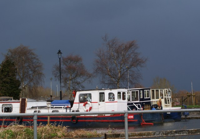 Dark sky over Maynooth Harbour, thanks GLW for the photo...