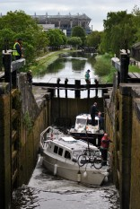 Looking down into the 3rd Lock...