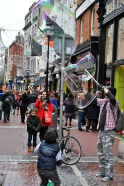 Go with the flow... Dublin's Grafton Street...