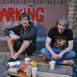 Dinner for two... Dublin July summer dine out, back alley style!