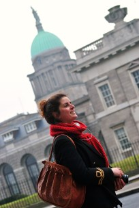 French chic on the Dublin streets, why not?