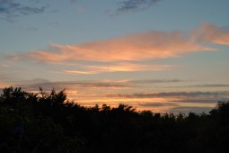 Layers of sunset clouds and colours...