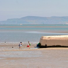 Sandymount Beach... who would miss a fine day on the beach?