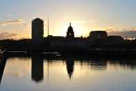 May sunset... the Custom House looks rather good in the fading light...