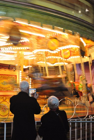 Fun at the fair... have you taken your tablet dear?