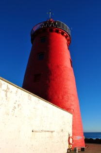 Poolbeg Lighthouse, Dublin, Ireland... positively glowing!