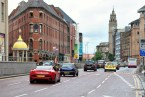 Belfast street... which one would you rather drive? Some difference!
