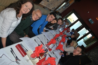 A table full of family fun!!