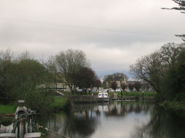 The Camlin entrance to the Royal Canal, Ireland...
